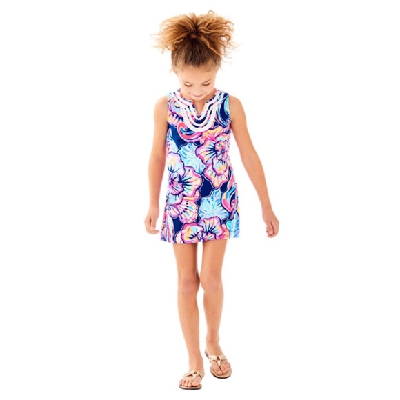 efb240aa48a63e Lilly Pulitzer Other - Lilly Pulitzer Girls Mini Harper Shift Dress